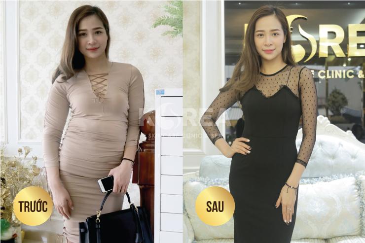 Hành trình giảm 25 kg của bà mẹ 9x xinh đẹp 4