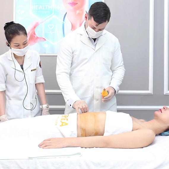 Giảm 12kg, thu gọn 24cm vòng bụng sau sinh – nữ tiếp viên hàng không gây sốc 2
