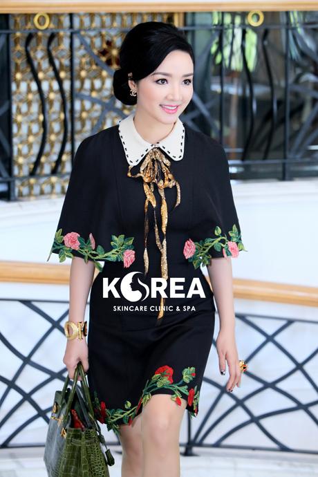 Hoa hậu giáng My lần đầu tiết lộ cách thức giữ dáng s - line dù đã U50 1