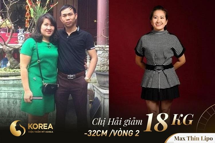 Chị Hải cảm thấy may mắn vì nhờ Max Thin Lipo chị không chỉ giảm cân mà còn khỏe ra