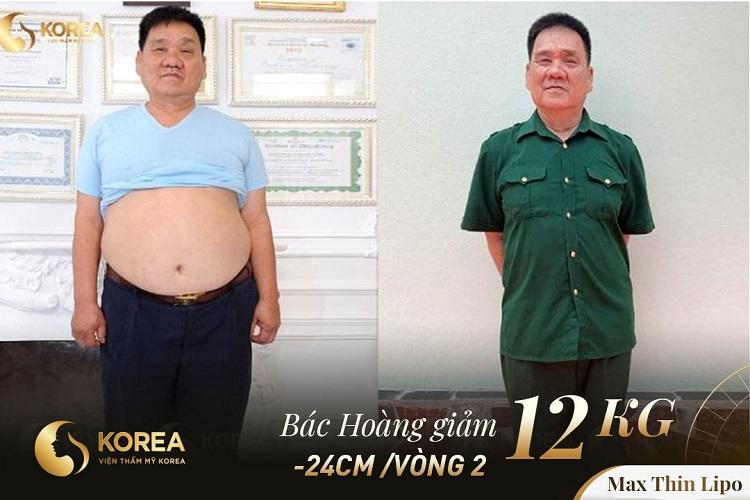 Người cựu chiến binh chỉ có mong muốn đơn giản là giảm cân để không làm phiền các con