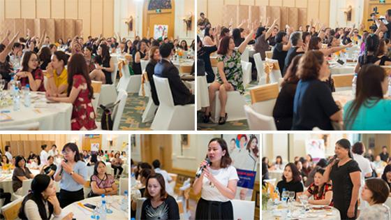 Hàng ngàn khách hàng đã chia sẻ tại Hội thảo giảm béo