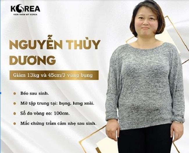 Chị Thùy Dương tìm đến Max Thin Lipo để lấy lại vóc dáng sau sinh