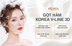 Gọt hàm Korea V-line 3D là kỹ thuật thẩm mỹ hàm tiên tiến nhất trên thế giới.
