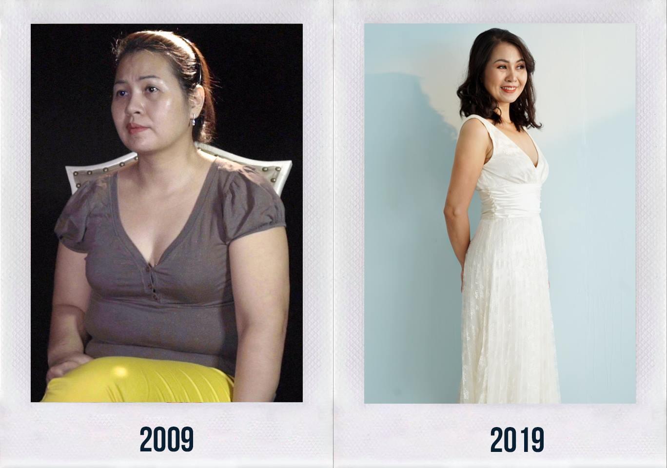 Hoa khôi Sài Thành giảm cân ngoạn mục, thoát khỏi trầm cảm suốt 10 năm 5