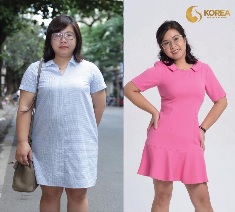 Chị Hồng Hà, 32 tuổi – giảm 16kg mỡ thừa, sở hữu vòng eo nuột nà chỉ sau 2 tháng.