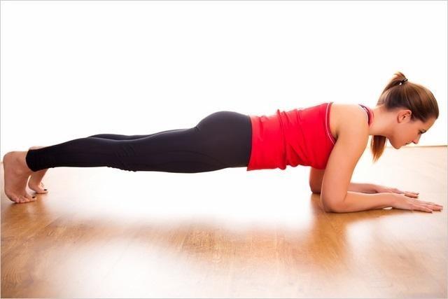 bài tập cho vòng 2 thon gọn Front Plank