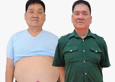Hành trình thoát béo thoát bệnh của người lính già dân tộc Sán Dìu 38