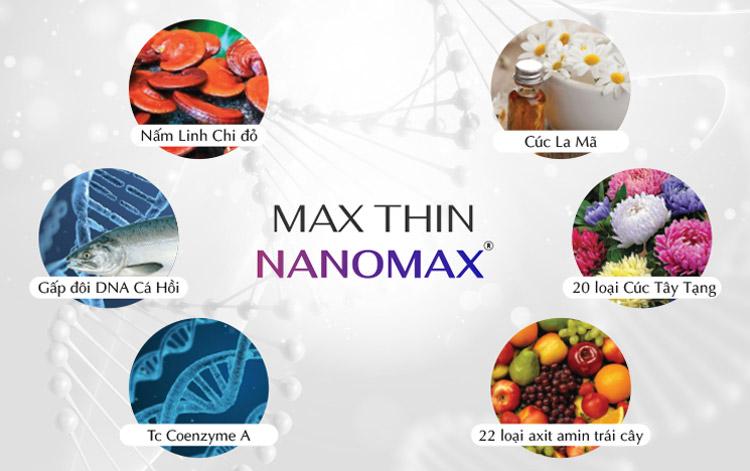 Công nghệ Max Thin Nanomax 3