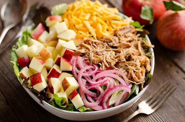 Ngày 2 - Ăn kiêng giảm cân nhanh với táo và trái cây
