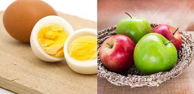Ngày 5 - Thực đơn giảm calo với táo xanh