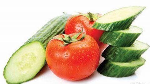 Giảm giảm cân bằng cà chua