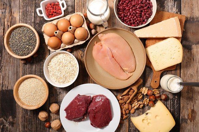Protein không chỉ giúp giảm cân mà còn tăng khối lượng cơ giúp cơ thể khỏe mạnh cân đối hơn