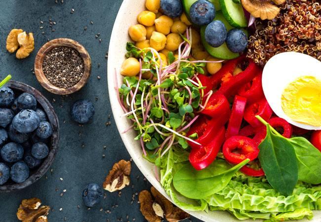 Chế độ ăn kiêng bổ sung trí não Mind
