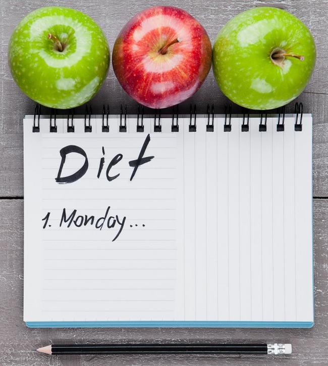 Thực đơn ăn táo giảm cân trong 5 ngày