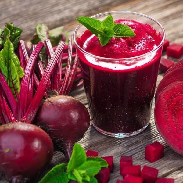 Nước ép giảm mỡ bụng củ cải đỏ còn giúp cải thiện tình trạng thiếu máu