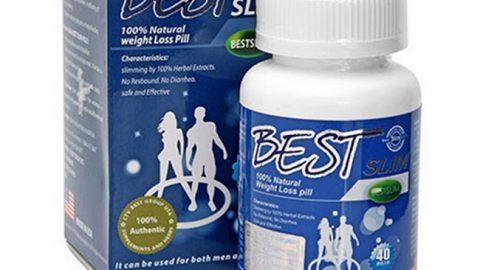 Thuốc thảo dược giảm cân Best Slim