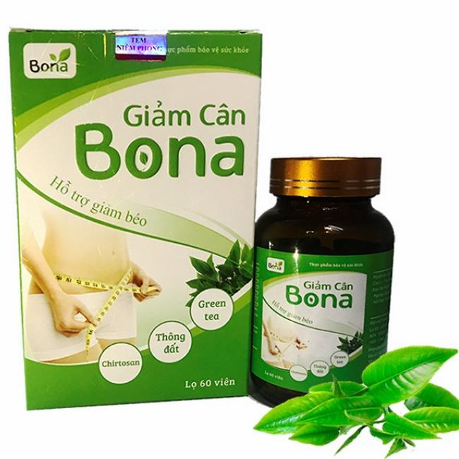 Thuốc thảo dược giảm cân Bona