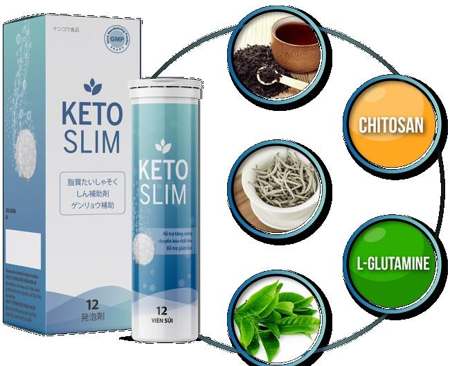 Thuốc thảo dược giảm cân Keto Slim
