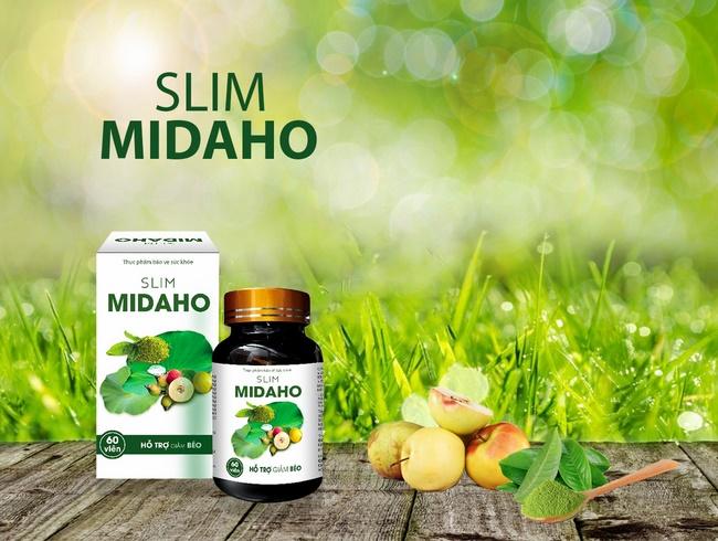 Thuốc thảo dược giảm cân Slim Midaho