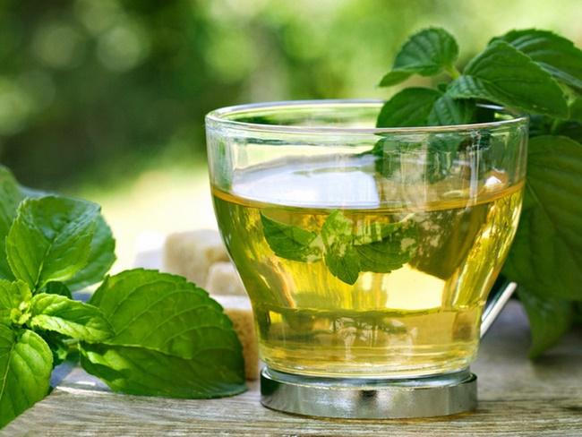 Uống lá bạc hà giảm cân nhanh chóng