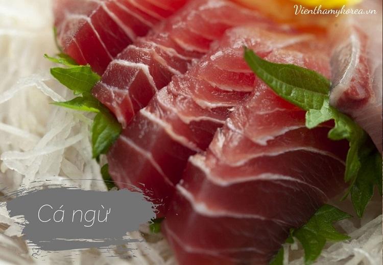Cá ngừ là một thức phẩm phổ biến trong giới vận động viên thể hình và người mẫu khi giảm béo