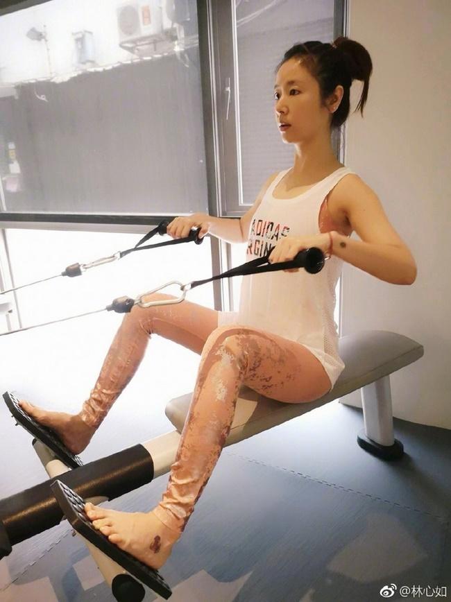 Bí quyết giảm cân sau sinh của Lâm Tâm Như