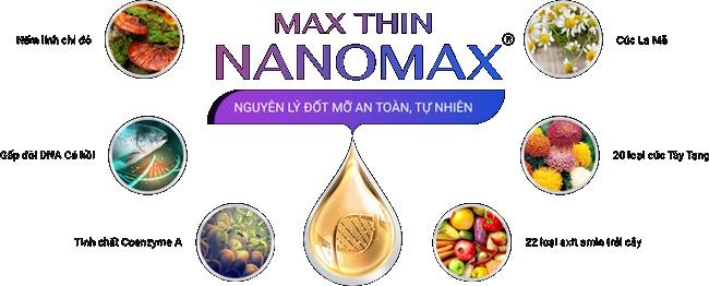 Công nghệ đốt mỡ thế hệ mới Max Thin Nanomax