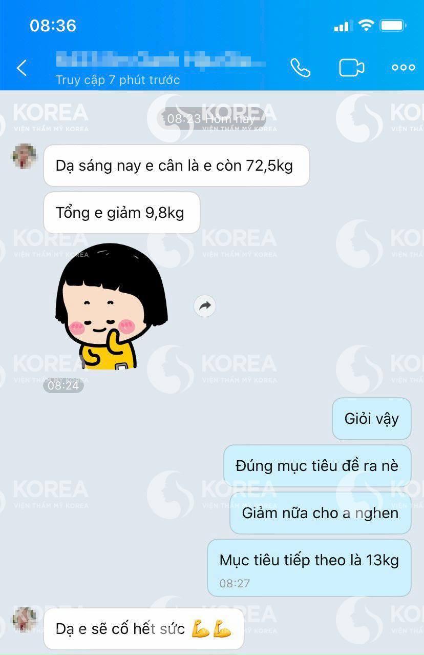 Viện thẩm mỹ Korea là địa chỉ được tin tưởng cho giảm cân tại Việt Nam