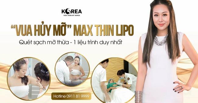 Công nghệ đốt mỡ bụng trong 1 tuần Max Thin Lipo