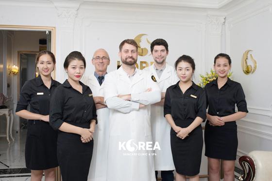 Viện thẩm mỹ Korea được thành lập 2011 ở 2 trụ sở chính tại Hà Nội và t.p Hồ Chí Minh