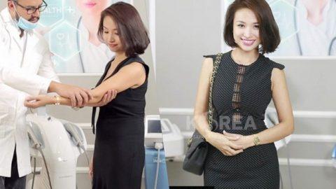 Khách hàng luôn tin tưởng công nghệ giảm béo Max Thin Nanomax tại VTM Korea
