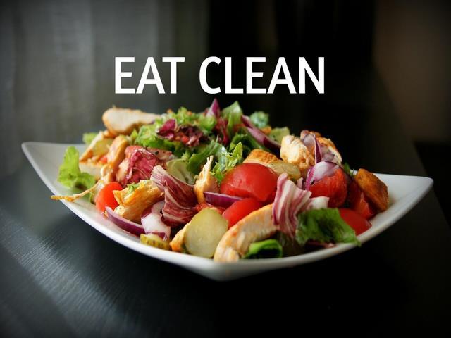 Thực đơn giảm cân Eat Clean trong 7 ngày