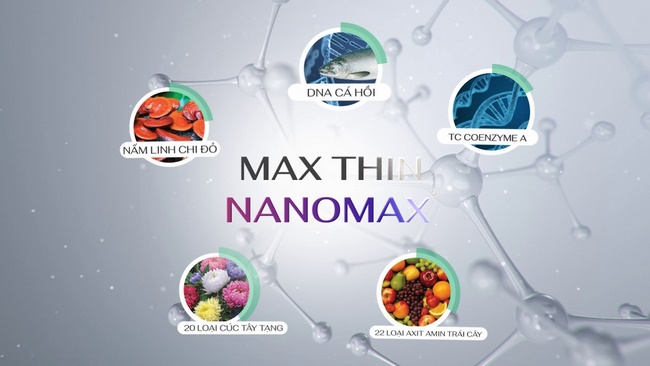 Ưu điểm vượt trội của công nghệ đốt mỡ Max Thin Nanomax
