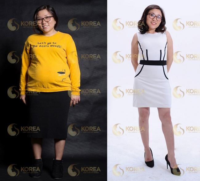 Chị Mai giảm thành công 12kg mỡ thừa