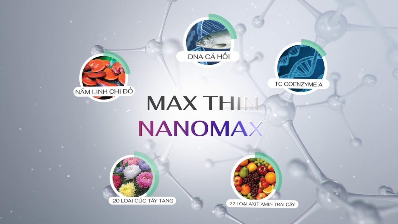 Max Thin Nanomax nổi bật nhất trong các phương pháp giảm béo nhanh nhất