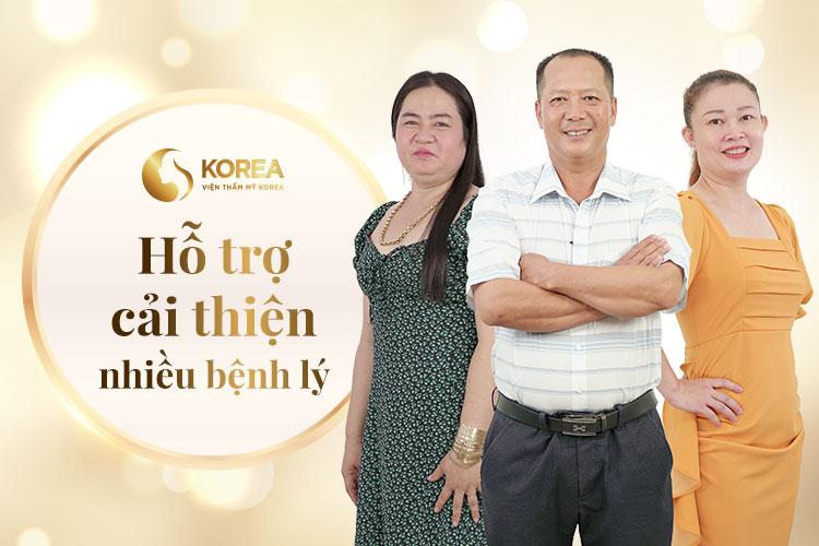 Không chỉ an toàn với người cao tuổi giảm béo tại Korea còn hỗ trợ cải thiện nhiều vấn đề sức khỏe