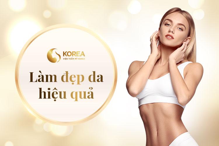 Làn da sau khi giảm béo nhanh tại Korea không bị nhăn nheo mà ngược lại còn săn chắc mịn màng