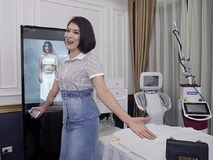 """Diễn viên Hà Hương nổi tiếng với vai """"Nguyệt thảo mai"""" giảm béo tại VTM Korea"""