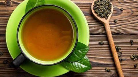 Nước trà xanh giảm cân