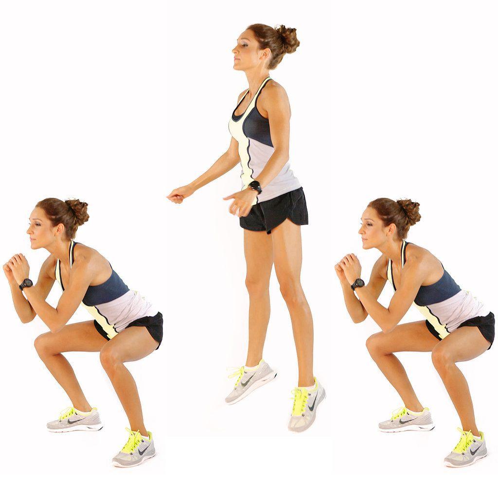 Bài tập đứng lên ngồi xuống sẽ tác động tới toàn thân, đặc biệt là cơ bụng, eo