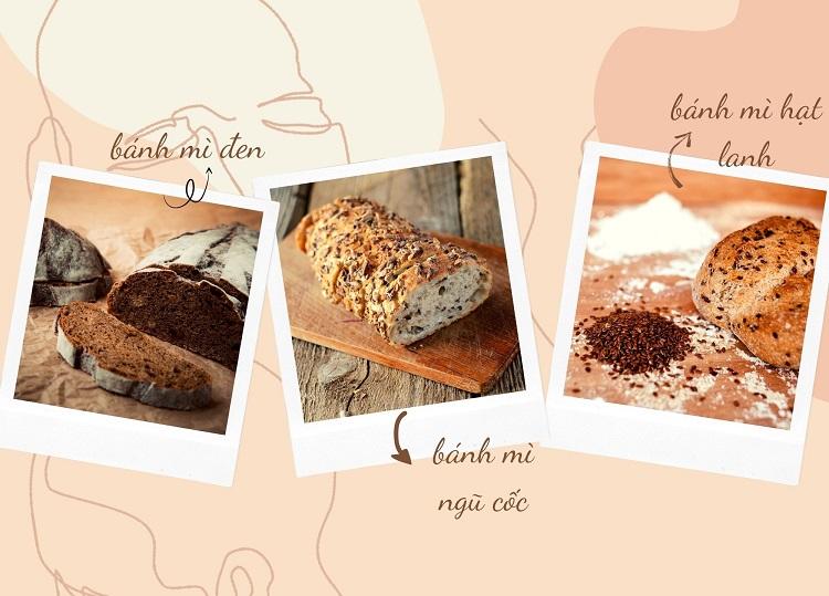 Một số loại bánh mì giúp giảm cân hiệu quả