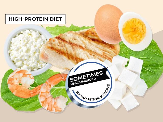 bổ sung protein để giảm béo ăn tết