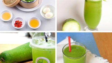 ăn bí xanh giảm cân
