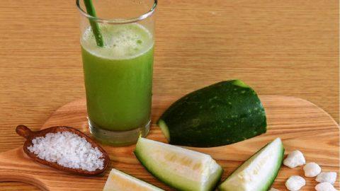uống nước bí xanh giảm cân
