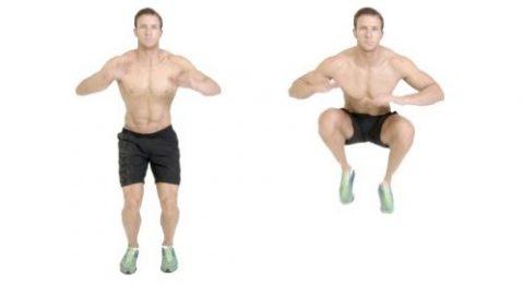 Bài tập Tuck Jumps giúp giảm cân, giảm mỡ toàn thân hiệu quả