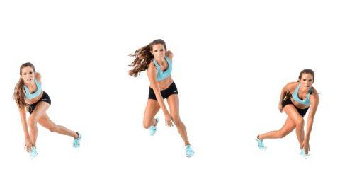 Bài thể dục eo thon tại nhà cho nữ Speed Skaters đốt mỡ làm nóng cơ thể hiệu quả