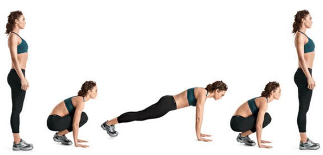 bài tập giảm mỡ toàn thân cho nữ