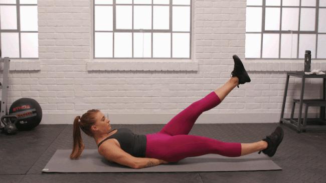 bài tập gym giảm mỡ bụng