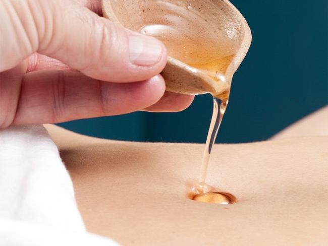 Cách massage giảm mỡ bụng